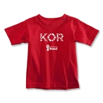 South Korea 2014 FIFA World Cup Brazil(TM) Toddler Elements T-Shirt (Red)