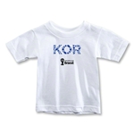 South Korea 2014 FIFA World Cup Brazil(TM) Toddler Elements T-Shirt (White)