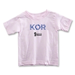 South Korea 2014 FIFA World Cup Brazil(TM) Toddler Elements T-Shirt (Pink)
