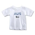 Australia 2014 FIFA World Cup Brazil(TM) Toddler Elements T-Shirt (White)