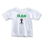Iran 2014 FIFA World Cup Brazil(TM) Toddler Core T-Shirt (White)