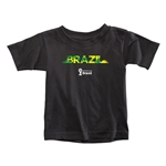 Brazil 2014 FIFA World Cup Brazil(TM) Toddler Palm T-Shirt (Black)