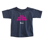 2014 FIFA World Cup Brazil(TM) Toddler All In One Rhythm T-Shirt (Navy)