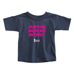 2014 FIFA World Cup Brazil(TM) Toddler Portugese All In One Rhythm T-Shirt (Navy)