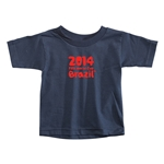 2014 FIFA World Cup Brazil(TM) Toddler Logotype T-Shirt (Navy)