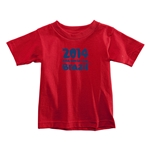 2014 FIFA World Cup Brazil(TM) Toddler Logotype T-Shirt (Red)