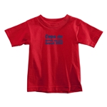 2014 FIFA World Cup Brazil(TM) Toddler Portugese Logotype T-Shirt (Red)