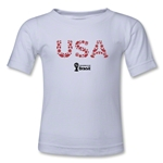 USA 2014 FIFA World Cup Brazil(TM) Toddler Elements T-Shirt (White)