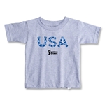 USA 2014 FIFA World Cup Brazil(TM) Toddler Elements T-Shirt (Grey)