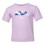 USA 2014 FIFA World Cup Brazil(TM) Toddler Palm T-Shirt (Pink)