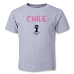 Chile 2014 FIFA World Cup Brazil(TM) Toddler Core T-Shirt (Grey)