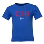 Chile 2014 FIFA World Cup Brazil(TM) Toddler Elements T-Shirt (Royal)