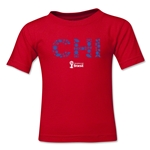 Chile 2014 FIFA World Cup Brazil(TM) Toddler Elements T-Shirt (Red)