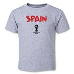 Spain 2014 FIFA World Cup Brazil(TM) Toddler Core T-Shirt (Grey)