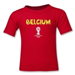 Belgium 2014 FIFA World Cup Brazil(TM) Toddler Core T-Shirt (Red)