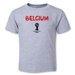 Belgium 2014 FIFA World Cup Brazil(TM) Toddler Core T-Shirt (Grey)