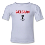 Belgium 2014 FIFA World Cup Brazil(TM) Toddler Core T-Shirt (White)