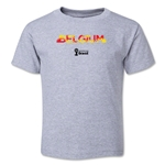 Belgium 2014 FIFA World Cup Brazil(TM) Toddler Elements T-Shirt (Grey)