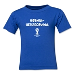 Bosnia-Herzegovina 2014 FIFA World Cup Brazil(TM) Toddler Core T-Shirt (Royal)