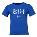 Bosnia-Herzegovina 2014 FIFA World Cup Brazil(TM) Toddler Elements T-Shirt (Royal)
