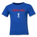 Costa Rica 2014 FIFA World Cup Brazil(TM) Toddler Core T-Shirt (Royal)