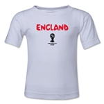 England 2014 FIFA World Cup Brazil(TM) Toddler Core T-Shirt (White)