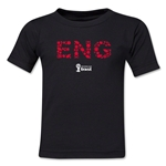 England 2014 FIFA World Cup Brazil(TM) Toddler Elements T-Shirt (Black)