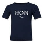 Honduras 2014 FIFA World Cup Brazil(TM) Toddler Elements T-Shirt (Navy)