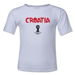 Croatia 2014 FIFA World Cup Brazil(TM) Toddler Core T-Shirt (White)