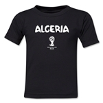 Algeria 2014 FIFA World Cup Brazil(TM) Toddler Core T-Shirt (Black)
