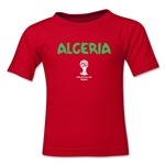 Algeria 2014 FIFA World Cup Brazil(TM) Toddler Core T-Shirt (Red)