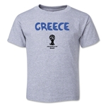 Greece 2014 FIFA World Cup Brazil(TM) Toddler Core T-Shirt (Grey)