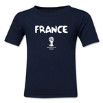 France 2014 FIFA World Cup Brazil(TM) Toddler Core T-Shirt (Navy)