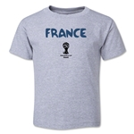 France 2014 FIFA World Cup Brazil(TM) Toddler Core T-Shirt (Gray)
