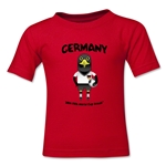 Germany 2014 FIFA World Cup Brazil(TM) Toddler Mascot T-Shirt (Red)