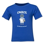 Greece 2014 FIFA World Cup Brazil(TM) Toddler Mascot T-Shirt (Royal)