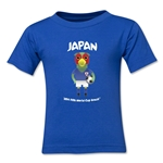 Japan 2014 FIFA World Cup Brazil(TM) Toddler Mascot T-Shirt (Royal)