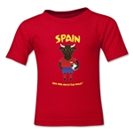 Spain 2014 FIFA World Cup Brazil(TM) Toddler Mascot T-Shirt (Red)