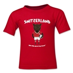 Switzerland 2014 FIFA World Cup Brazil(TM) Toddler Mascot T-Shirt (Red)