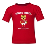 South Korea 2014 FIFA World Cup Brazil(TM) Toddler Mascot T-Shirt (Red)