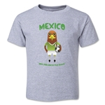 Mexico 2014 FIFA World Cup Brazil(TM) Toddler Mascot T-Shirt (Grey)