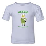 Nigeria 2014 FIFA World Cup Brazil(TM) Toddler Mascot T-Shirt (White)