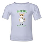 Algeria 2014 FIFA World Cup Brazil(TM) Toddler Mascot T-Shirt (White)