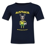 Australia 2014 FIFA World Cup Brazil(TM) Toddler Mascot T-Shirt (Navy)