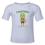 Cameroon 2014 FIFA World Cup Brazil(TM) Toddler Mascot T-Shirt (White)