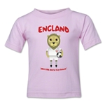 England 2014 FIFA World Cup Brazil(TM) Toddler Mascot T-Shirt (Pink)