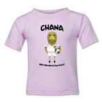 Ghana 2014 FIFA World Cup Brazil(TM) Toddler Mascot T-Shirt (Pink)
