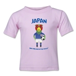 Japan 2014 FIFA World Cup Brazil(TM) Toddler Mascot T-Shirt (Pink)
