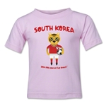 South Korea 2014 FIFA World Cup Brazil(TM) Toddler Mascot T-Shirt (Pink)