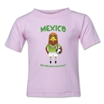 Mexico 2014 FIFA World Cup Brazil(TM) Toddler Mascot T-Shirt (Pink)